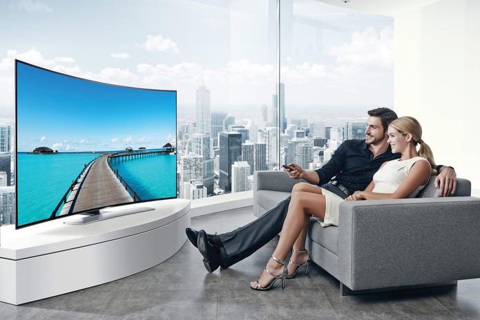 smart tv samsung (Foto: Divulgação/Samsung)