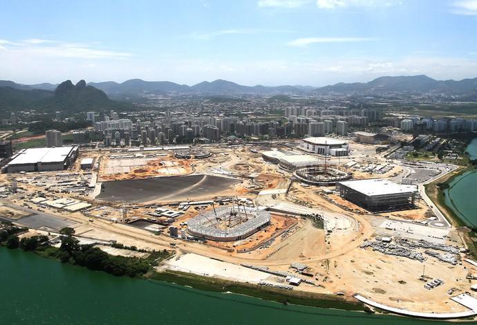 Obras Parque Olímpico  (Foto: Bruno Carvalho / Ministério do Esporte)