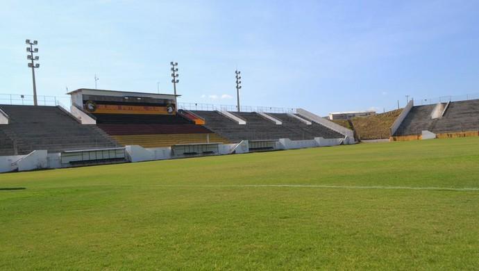Estádio Barretão Ceará-Mirim Globo (Foto: Jocaff Souza/GloboEsporte.com)
