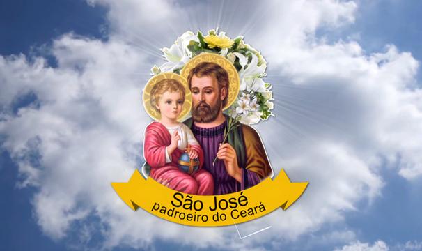 São José é o Padroeiro do Ceará. Seu dia é comemorado em 19 de março. (Foto: Divulgação/TV Verdes Mares)