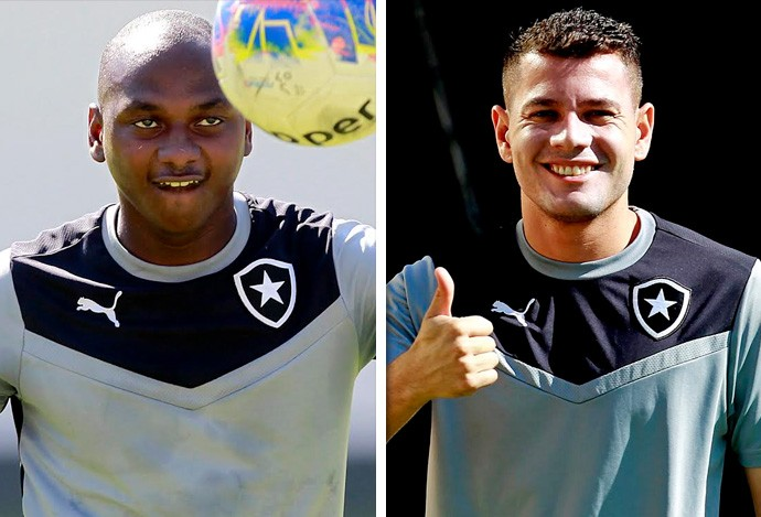 Montagem Botafogo Novidades (Foto: GloboEsporte.com)