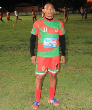 Tiago 'Soldado' Oliveira: curriculo tem Copa Verde, Copa do Brasil e seis meses no futebol inglês (Foto: imagem/Tércio Neto)