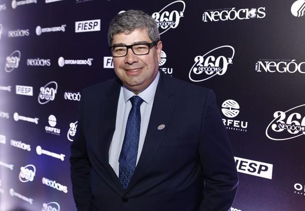 Eduardo Gouveia, presidente da Cielo, durante o Época NEGÓCIOS 360° (Foto: Ricardo Cardoso)