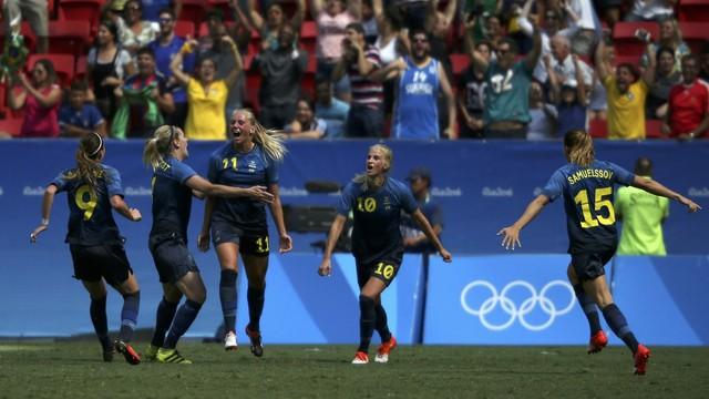 Estados Unidos x Suécia - Jogos Olímpicos - Futebol Feminino 2016 ... d986929736956