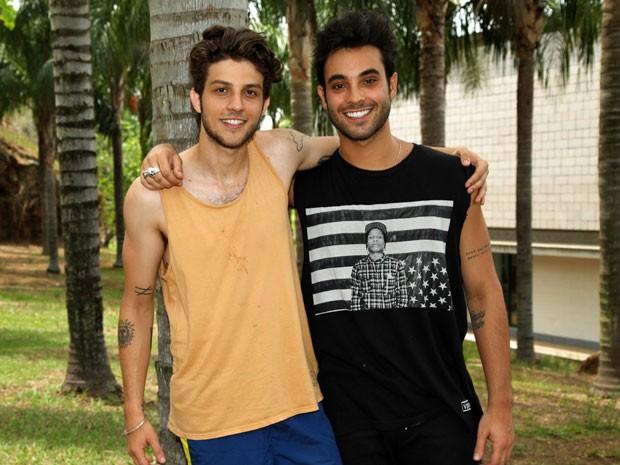 Chay e Filipe (Foto: Carol Caminha/Gshow)