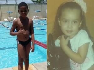 Asafe e Larissa foram vítimas de bala perdida (Foto: Reprodução / TV Globo)