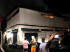 Incêndio atinge depósito de comércio no bairro Santo Agostinho em Manaus