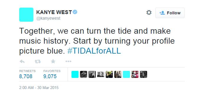 Tidal Kanye West (Foto: Reprodução/Maria Clara Pestre)