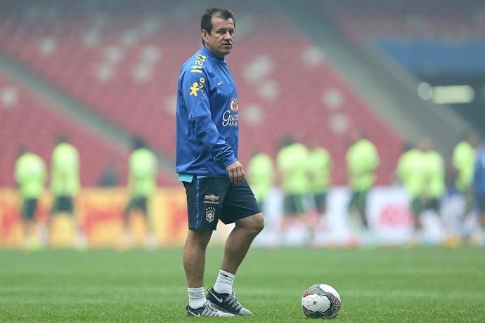 Dunga, Treino da Seleção Brasileira (Foto: Heuler Andrey / Mowa Press)