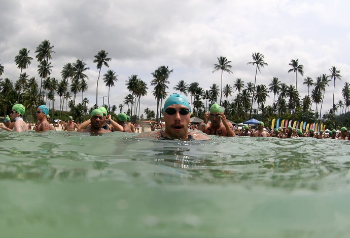 Samuel de Bona maratona aquática salvador (Foto: Satiro Sodré/CBDA)