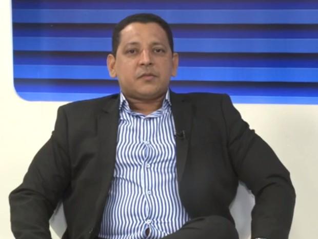 Jorge Andrade, presidente do Sindeperitos-PI (Foto: Reprodução/TV Clube)