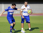 Preparador físico avalia situação de Cajá e desgaste de Lucas Fonseca