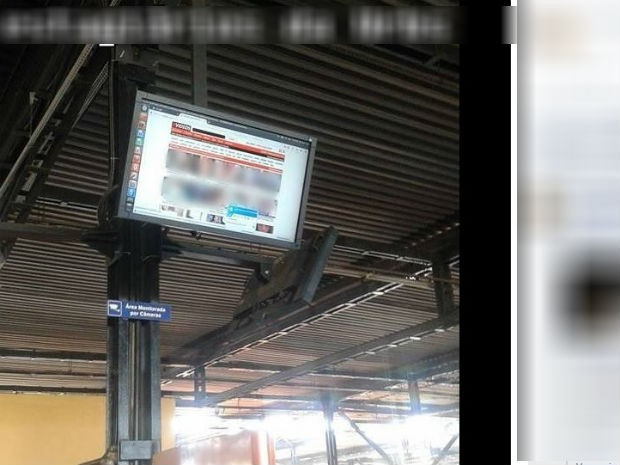 Urbs disse que pediu à empresa responsável para melhorar segurança (Foto: Reprodução/Facebook)