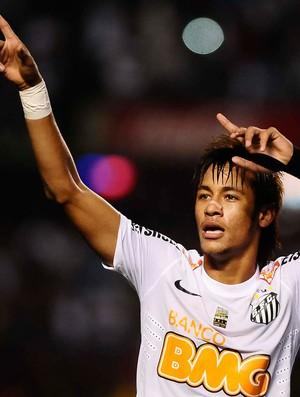 Neymar contra o Guarani 2012 (Foto: Marcos Ribolli / Globoesporte.com)
