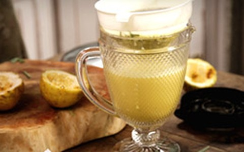 Suco de maracujá com cidreira