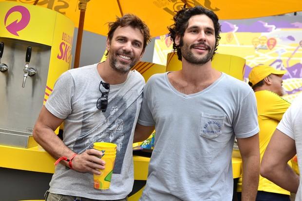 Marcelo Faria e Dudu Azevedo (Foto: Roberto Teixeira / EGO)