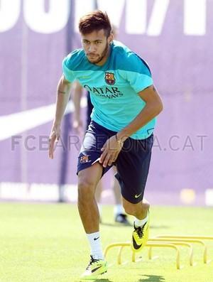 neymar barcelona treino (Foto: Site Oficial Barcelona)