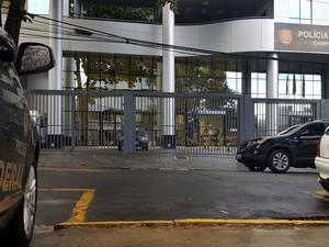 Sede da Polícia Federal em Campinas (Foto: André Natale/EPTV)