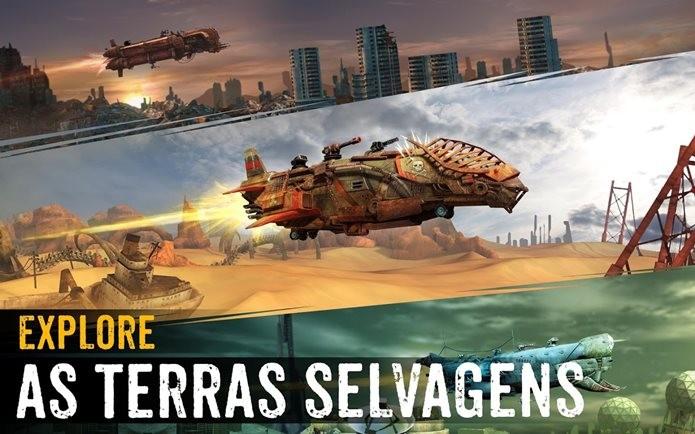Sandstorm Pirate Wars é ambientado num futuro pós-apocalíptico semelhante a Mad Max (Foto: Divulgação / Ubisoft)