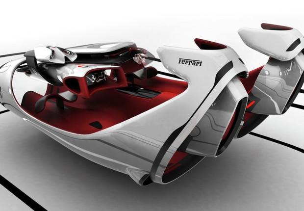 """Projeto """"FL"""", que ganhou menção especial no concurso da Ferrari (Foto: Divulgação)"""