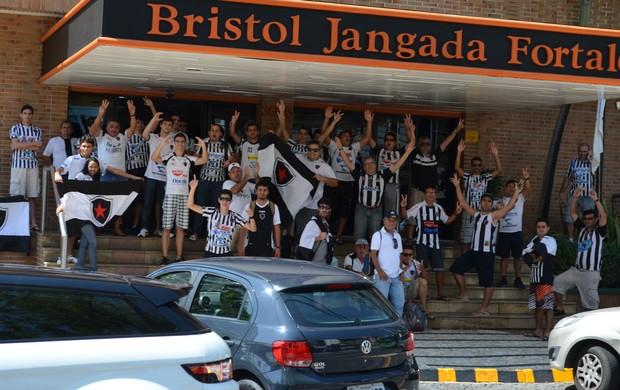 botafogo-pb, torcida, tiradentes, série d, torcida (Foto: Phelipe Caldas / Globoesporte.com/pb)
