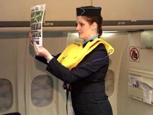Comissária de voo é agente de segurança (Foto: Renato Izidoro / EPTV)