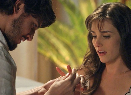 Rafael relembra pedido de casamento a Sofia