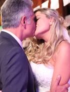 Brunettý e Nelson  se casam (Sangue Bom / TV Globo)
