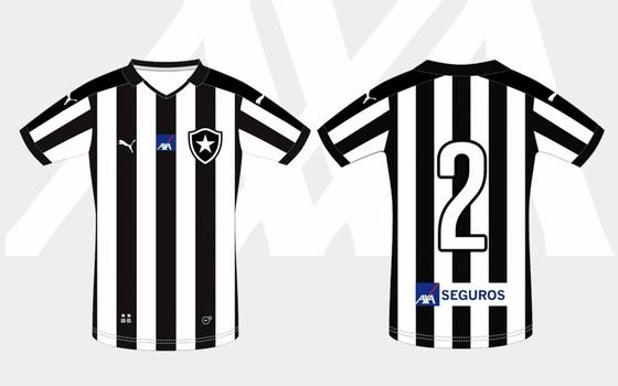 AXA Seguros aumentou investimento no Botafogo para segundo jogo da final do Carioca (Foto: Divulgação)