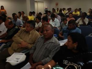 Anúncio foi feito nesta terça-feira (28), durante seminário na Caixa Econômica em Macapá (Foto: Gabriel Penha/G1)