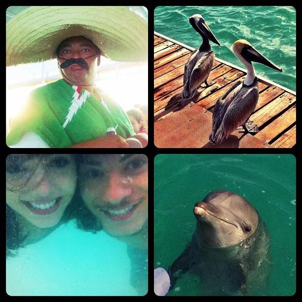 Giovanna Lancellotti e o namorado, Arthur Aguiar, em Cancun, no México (Foto: Instagram/ Reprodução)