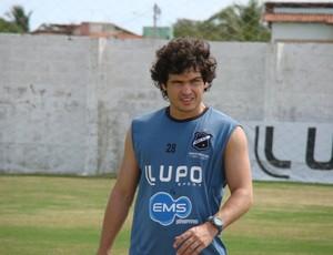 Lateral -esquerdo Berg chega ao Leão por indicação de Flávio Araújo (Foto: Divulgação/Assessoria do ABC-RN)