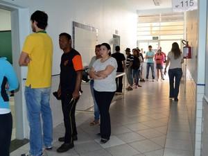 Cerca de 1,5 mil pessoas votarão em trânsito em Ribeirão Preto neste domingo (5) (Foto: Adriano Oliveira/G1)