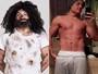 Mendigo, do 'Pânico', perde 17 quilos e mostra corpo sarado na web