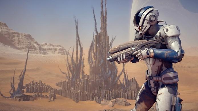 Mass Effect: Andromeda já tem data para chegar ao PS4, Xbox One e PC, porém não terá passe de temporada (Foto: Reprodução/Gematsu) (Foto: Mass Effect: Andromeda já tem data para chegar ao PS4, Xbox One e PC, porém não terá passe de temporada (Foto: Reprodução/Gematsu))