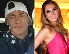 Neymar e Carol Portaluppi (Foto: Instagram - Raphael Mesquita/Divulgção)