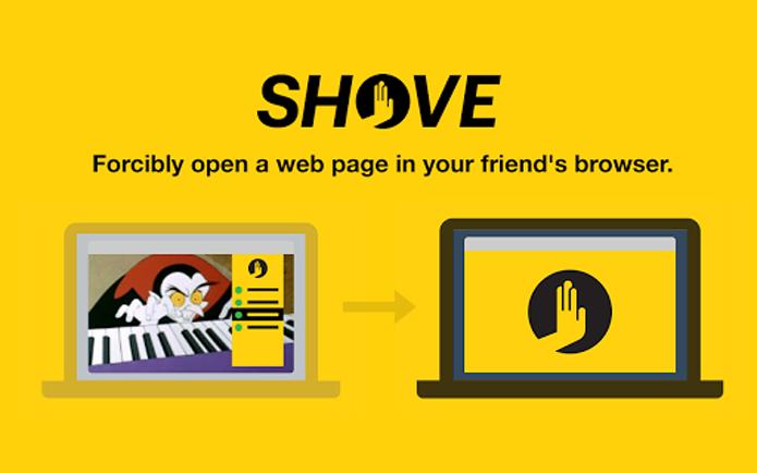 Extensão abre páginas do Chrome no computador de amigos (Foto: Reprodução/Shove)