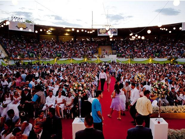 Mais de seis mil noivos e noivas oficializaram a união (Foto: Mayke Toscano/Secom-MT)