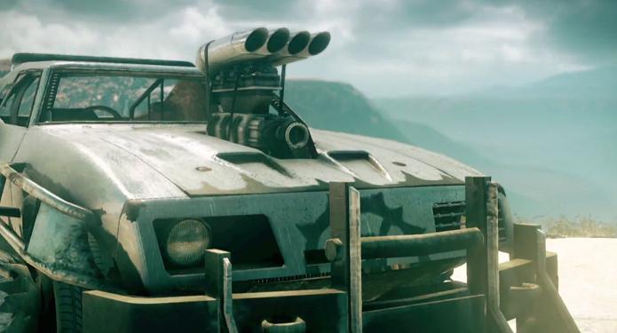 Mad Max poderá customizar o Magnum Opus de milhões de formas. (Foto: Reprodução/YouTube)