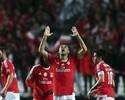 Jonas marca, Benfica vira após levar gol aos 14s e é líder do Português