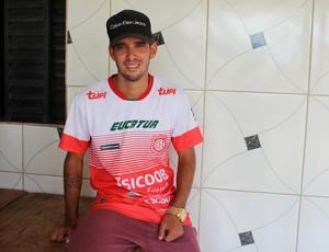 Lucas Real é o artilheiro do Guajará (Foto: Júnior Freitas)