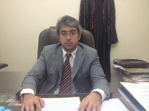 Promotor da 4ª Vara Criminal de Macapá João Furlan (Foto: Abinoan Santiago/G1)