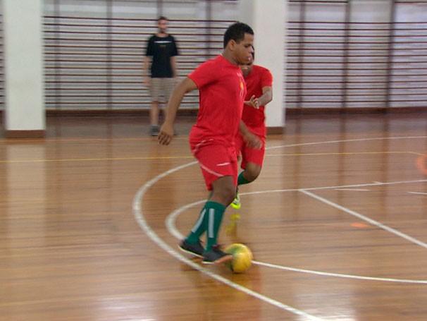 Futebol para cegos (Foto: Reprodução)