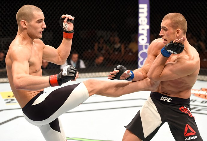 Sean Strickland Tom Breese UFC 199 (Foto: Getty Images)