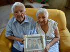 Paciência é receita para manter casamento, diz casal junto há 73 anos