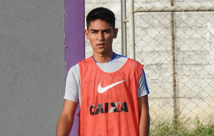 Fabricio Oya, Corinthians (Foto: Marcelo Braga)