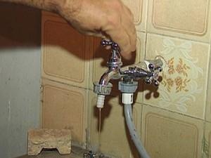 Abastecimento pode ficar prejudicado em alguns bairros (Foto: Reprodução / TV TEM)