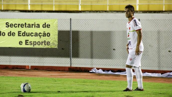 Matheus Cruz meio-campo Rio Branco-AC (Foto: João Paulo Maia)