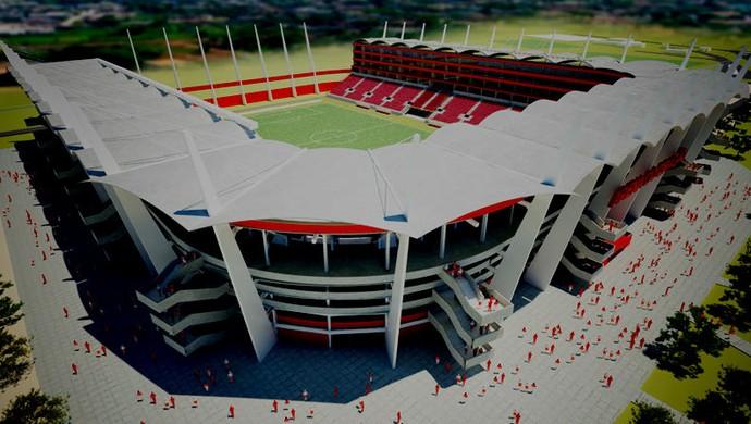 Arena América fachada (Foto: Reprodução)
