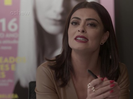 Teaser 30/1 - Dorinha conta a Carolina que viu Lili saindo da casa de Rafael